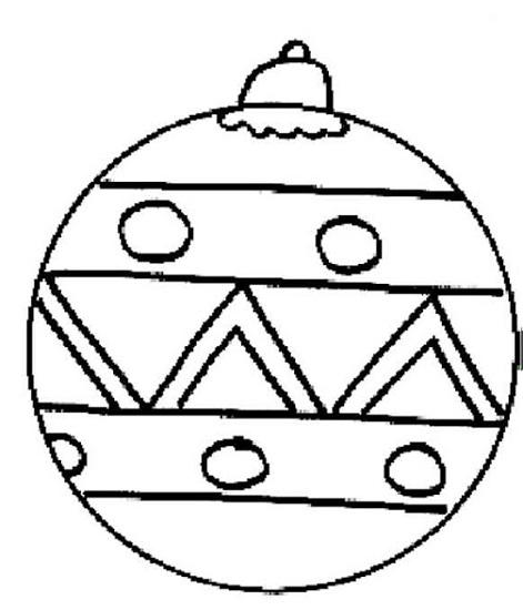 Dessin Boule De Noel Simple : manualidad con el rbol de navidad o bel n ed kame ~ Pogadajmy.info Styles, Décorations et Voitures