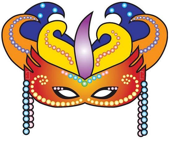 Hacer un antifaz de Carnaval para nios  Edkame