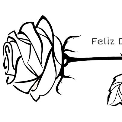 Una rosa para pintar y regalar el Día del Libro | Edúkame