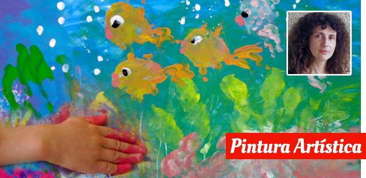 Imagen sobre  Cómo trabajar la expresión plástica con resultados atractivos para niños