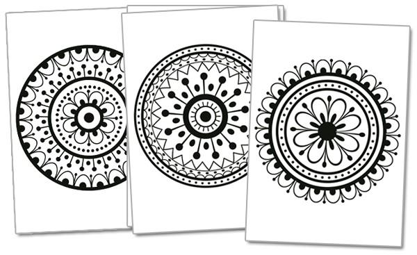 Mandalas para imprimir y pintar | Edúkame