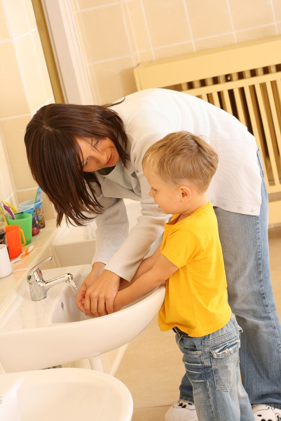 La importancia de lavarse las manos edukame - Leer la mano hijos ...