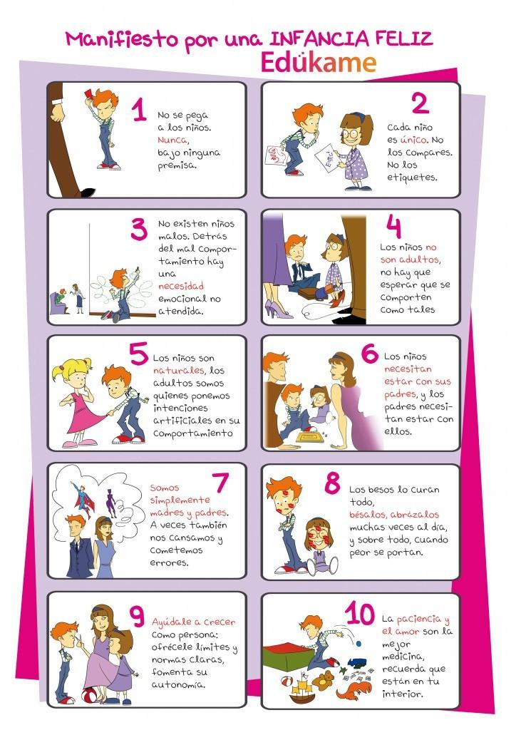 Nos ayudas a traducir el manifiesto por una infancia - Como enmarcar un poster en casa ...