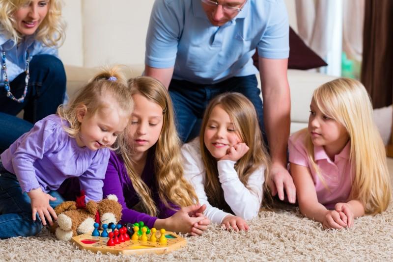 juegos de papas con bebes