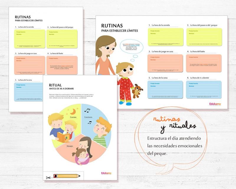 Materiales para trabajar los límites con niños