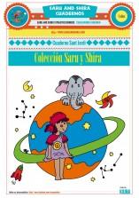 Colección cuadernos Saru y Shira 4 años