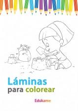 Láminas para colorear las rabietas
