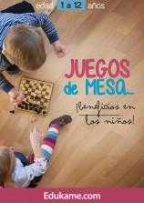 """Guía educativa """"Juegos de mesa: Beneficios en los niños"""""""
