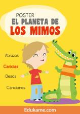 """Póster """"El planeta de los Mimos"""""""