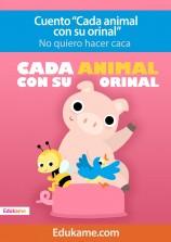 """Cuento """"Cada animal con su orinal"""""""