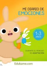 """Juegos y actividades """"Mi diario de emociones 1-3 años"""""""