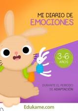 """Juegos y actividades """"Mi diario de emociones 3-6 años"""""""