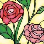 Punto de libro de rosa