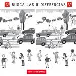 Busca las 5 diferencias