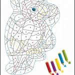 Imprimible lámina para colorear: El loro