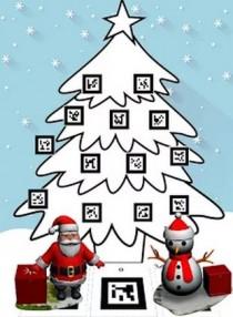 Decora tu árbol de Navidad con realidad aumentada