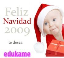 El equipo de Edukame os desea feliz navidad