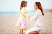 La actitud de la madre cuando se ha de separar de su hijo
