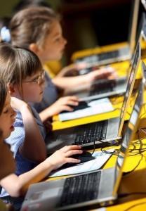 La tecnología mejora la escritura de los niños