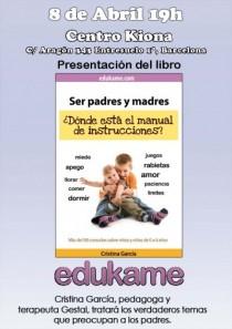 Hoy presentamos el libro de Edukame en el centro Kiona