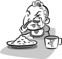 Mi hijo no come, le da asco y tira la comida