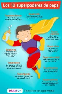 Los 10 superpoderes de padres