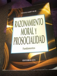 Razonamiento moral y prosocialidad de Manuel Martí Vilar