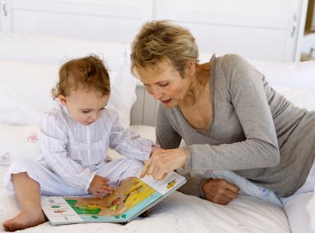... pero ten en cuenta algo: no es responsabilidad de las abuelas educar
