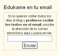 suscribir ¿Para qué sirve el boletín de noticias y suscribirse al blog de edukame?