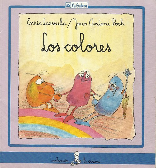 Cuento infantil: Los colores
