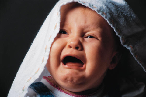 ¿Viste que los bebés lloran sin lágrimas?