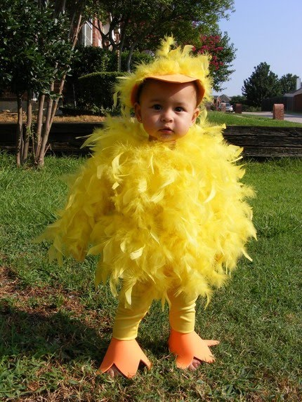Baby Chick Halloween Costume