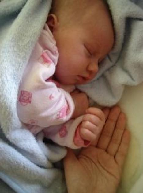 Aspecto de un bebé recién nacido
