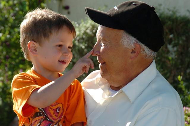 Hablar de la muerte de un abuelo con los niños
