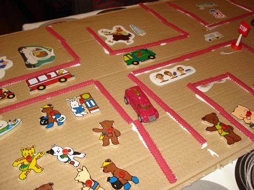 circuito coches 4 Cómo enseñar a resolver conflictos jugando