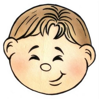 99 Niño Sonriente Feliz Ilustración Del Vector Del Cabrito Del Niño