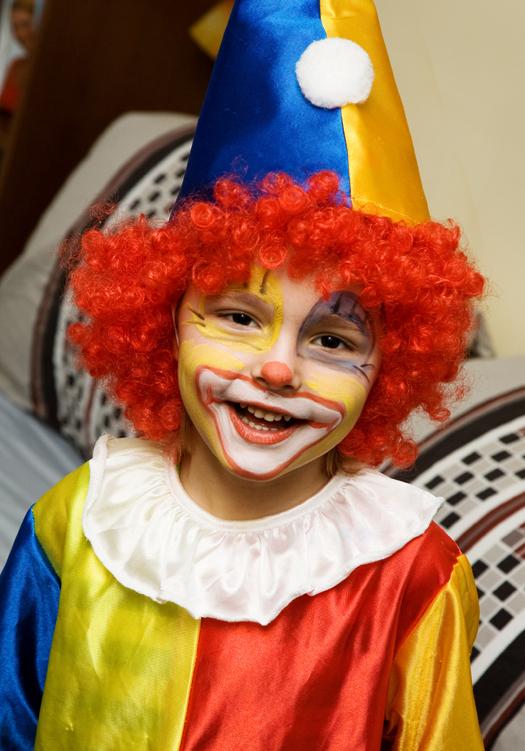 La elecci n del disfraz por parte del ni o no es al azar for Clown schminken bilder