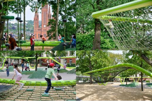8 maravillosos parques infantiles del futuro edukame for Columpios y toboganes para jardin