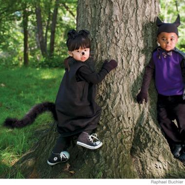 7 ideas para hacer disfraces de halloween edukame - Disfraces el gato negro ...